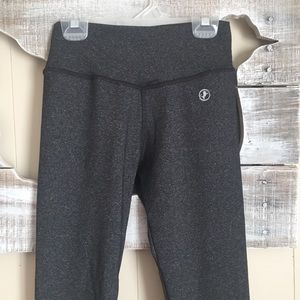 ABS2B Fitness Apparel | Gray Legging Size Small